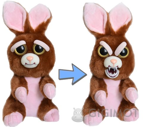 М яка іграшка Feisty Pets «Злісні тваринки» Кролик ae00759e00ced