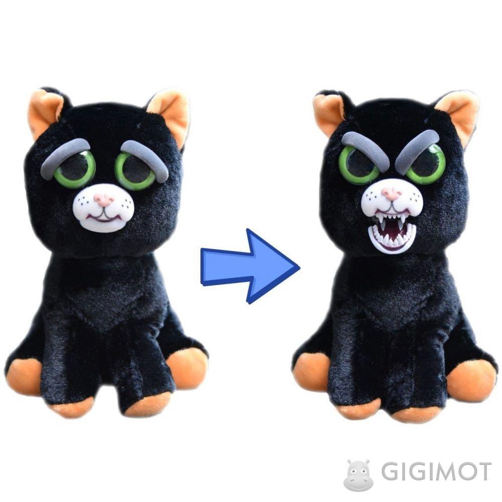 М яка іграшка Feisty Pets «Злісні тваринки» Котик f8db646f65b63