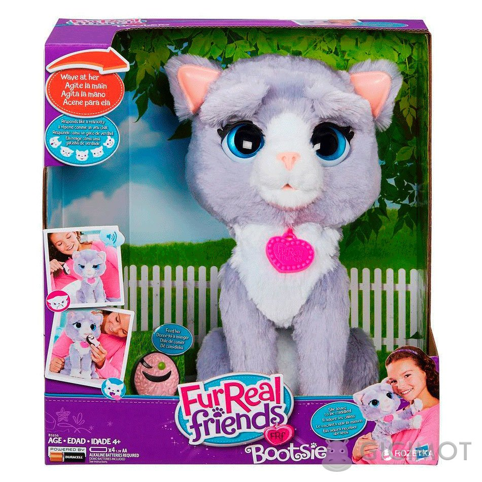Інтерактивная іграшка Furreal Friends «Кошеня Бутсі» 660b045975901