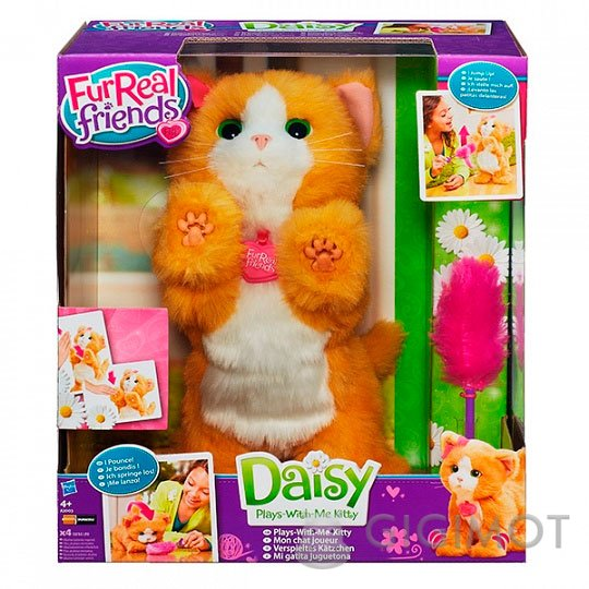 Інтерактивна іграшка Furreal Friends «Грайливе кошеня Дейзі»  f7f776300cab3