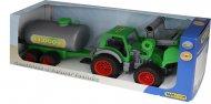 Трактор-погрузчик Wader (Полесье) «Фермер-техник» с цистерной, 37763