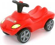 Каталка автомобиль Wader (Полесье) «Пожарная команда» со звуковым сигналом, 42255