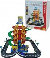 Игровой набор Wader (Полесье) Паркинг 5-уровневый с дорогой и автомобилями, 38104