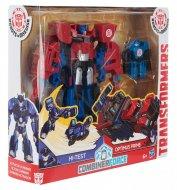 Трансформеры «Роботы под прикрытием: Гирхэд-Комбайнер Hi-Test и Optimus Prime», C0653/С2348