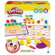Игровой набор Play-Doh «Буквы и языки», C3581