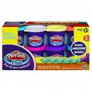 Набор пластилина из 8-ми баночек Play-Doh «Плюс», A1206
