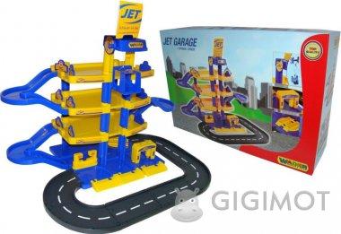 Игровой набор Wader (Полесье) Паркинг «JET» 4-уровневый с дорогой, 40220