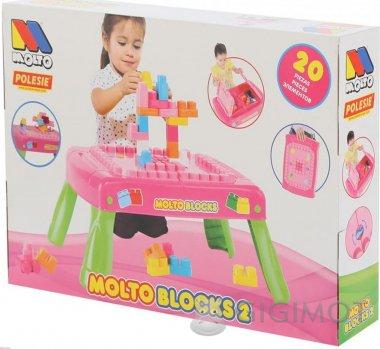 Игровой набор Molto-Polesie с конструктором, 58010