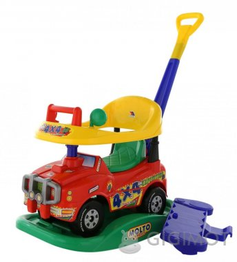 Каталка автомобиль Molto-Polesie Джип-каталка «Викинг», 3392