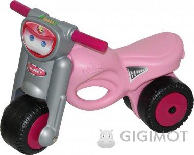 Каталка мотоцикл Polesie «Мини-мото» розовая, 48233