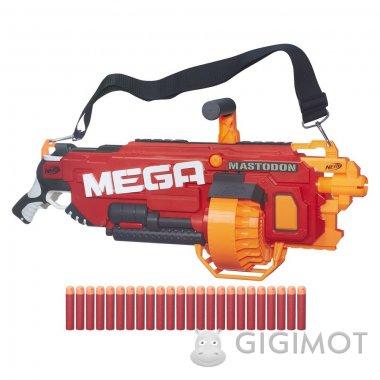 Бластер Nerf «Мега Мастодон», B8086