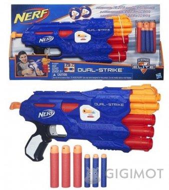 Бластер Nerf «Двойной выстрел», B4620