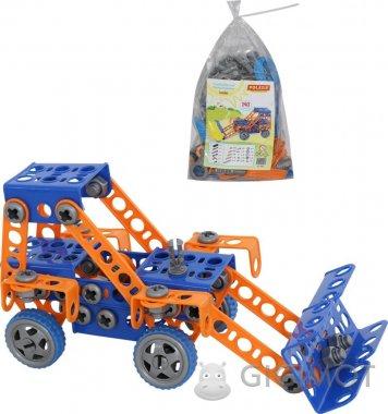 Конструктор Polesie «Изобретатель» - «Трактор-погрузчик №1», 55064