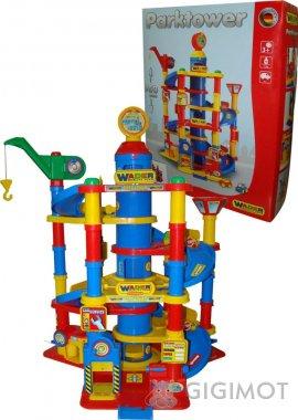 Игровой набор Wader (Полесье) Паркинг 7-уровневый с автомобилями, 37848