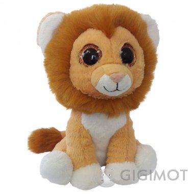Мягкая игрушка Fancy Лев глазастик, GLE0