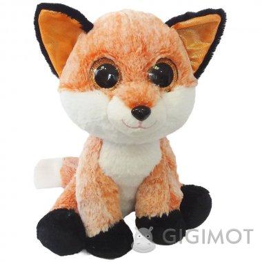 Мягкая игрушка Fancy Лисёнок глазастик, GLN0R