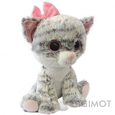 Мягкая игрушка Fancy Кошечка глазастик, GKK0