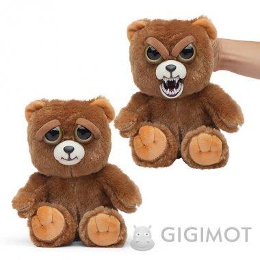 Мягкая игрушка Feisty Pets «Злобные зверюшки» Медвежонок, 32316.006