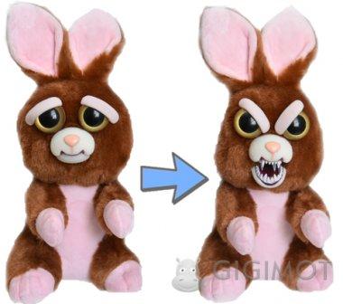 Мягкая игрушка Feisty Pets «Злобные зверюшки» Кролик, 32317.006
