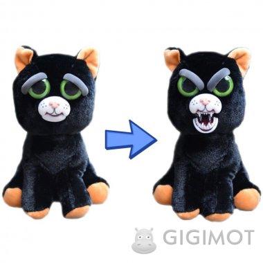 Мягкая игрушка Feisty Pets «Злобные зверюшки» Котик, 32319.006