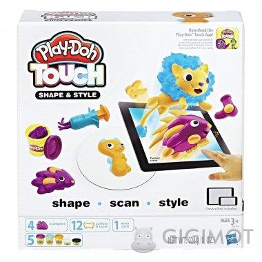Игровой набор Play-Doh «Лепи и делай прически», B9018