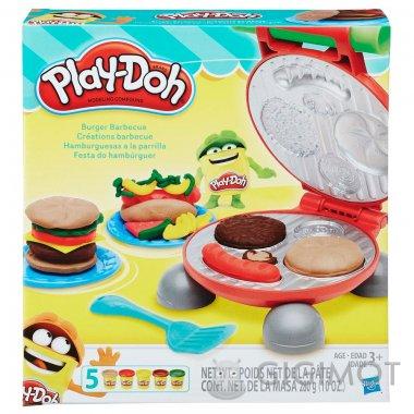 Игровой набор Play-Doh «Бургер гриль», B5521