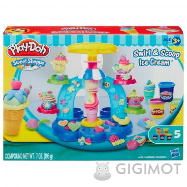 Игровой набор Play-Doh «Фабрика Мороженого», B0306