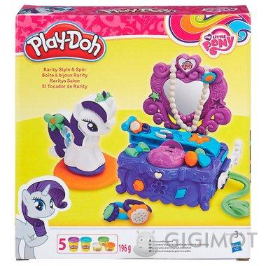 Игровой набор Play-Doh «Туалетный столик Рарити», B3400