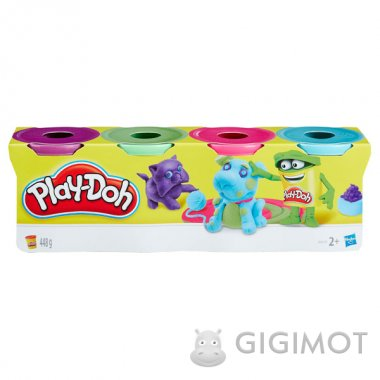 Набор Play-Doh из 4 баночек в ассорт., B5517