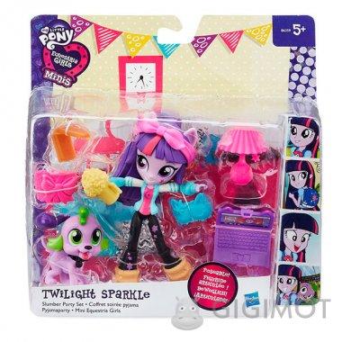 Мини-кукла с аксессуарами Equestria Girls My Little Pony в ассорт., B4909
