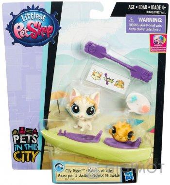 Городской транспорт Littlest Pet Shop в ассорт., B3807