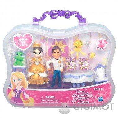 Игровой набор Disney Princess «Мини-кукла Принцесса и сцена из фильма» в ассорт., B5341
