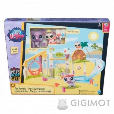 Игровой набор «Городские сценки» Littlest Pet Shop в ассорт., B5565