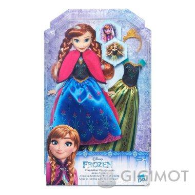 Кукла со сменным нарядом Frozen «Холодное сердце» в ассорт., B5169
