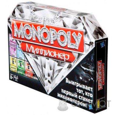 Игра настольная «Монополия Миллионер» русскоязычная, 98838121