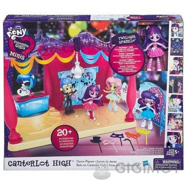 Игровой набор мини-кукол Equestria Girls My Little Pony «В школе», B6475