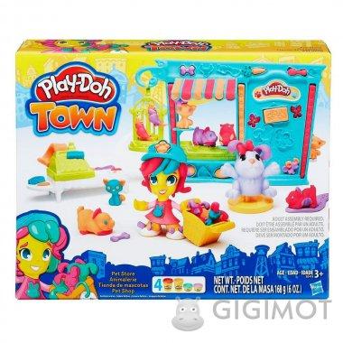 Игровой набор Play-Doh Город «Магазинчик домашних питомцев», B3418