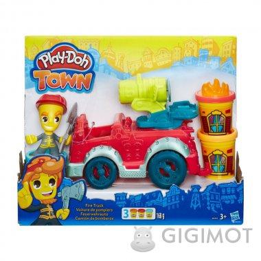Игровой набор Play-Doh Город «Пожарная машина», B3416