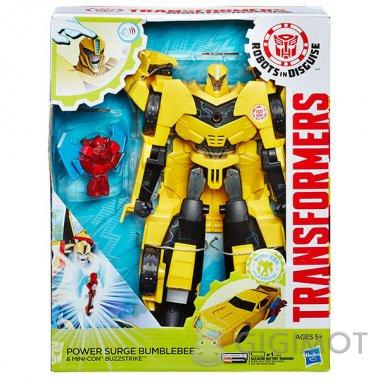 Трансформеры «Роботы под прикрытием: Заряженые Герои» в ассорт., B7067