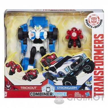 Трансформеры «Роботы под прикрытием: Гирхэд-Комбайнер», C0653