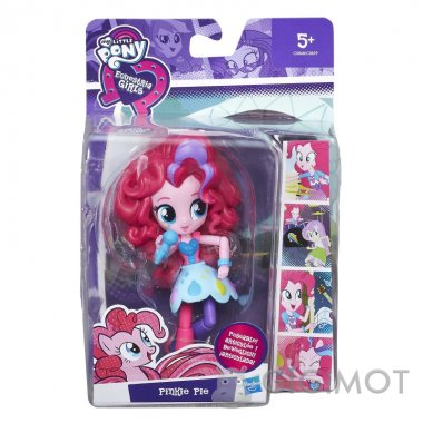 Мини-кукла My Little Pony «EG Rockin Pinkie Pie», C0839/C0868EU40