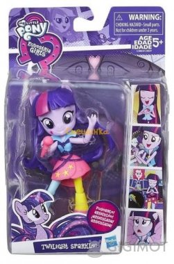 Мини-кукла My Little Pony «EG Rockin Twilight Sparkle», C0839/C0864EU40