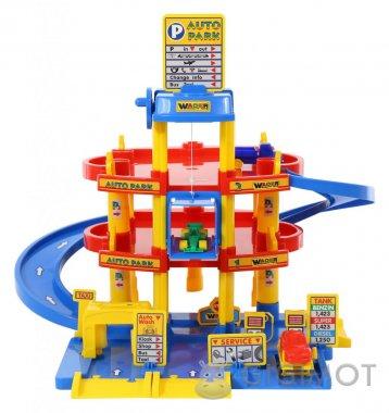 Игровой набор Wader (Полесье) Паркинг 3-уровневый с автомобилями, 37893
