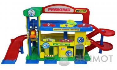 Игровой набор Wader (Полесье) Гараж №1«Преміум» с автомобилями, 40398