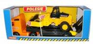 Автомобіль-трейлер Polesie «Volvo» + дорожній каток, 36902