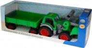 Трактор-навантажувач Wader (Полісся) «Фермер-технік» з причепом, 37770