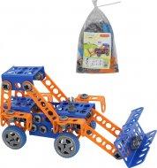Конструктор Polesie «Винахідник» - «Трактор-навантажувач №1», 55064