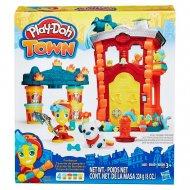 Ігровий набір Play-Doh Місто «Пожежна станція», B3415