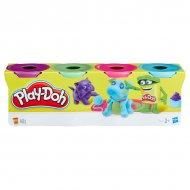 Набір Play-Doh з 4 баночок в асорт., B5517