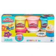 Набір Play-Doh з 6 баночок з конфетті, B3423